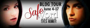 safe word banner for word blog tour